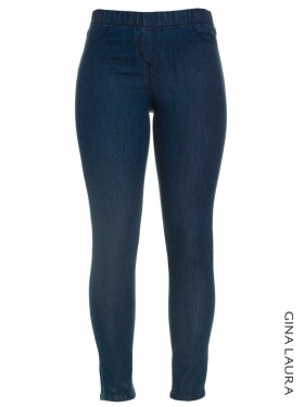 Jegging denim bleu