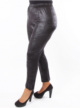 Pantalon simili noir