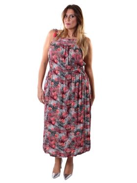 ULLA POPKEN robe rose