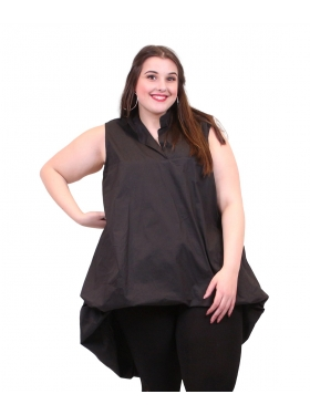 Robe tunique bloomer noir